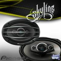 """PARLANTES PIONEER A-Series TS-A6984R 6"""" x 9"""" 4-Way 550w (80 rms)"""