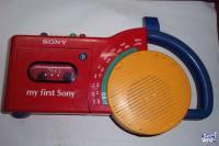 RADIO GRABADOR MY.FIRST.SONY CFM-2500 9PUNTO