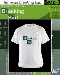 REMERAS BREAKING BAD