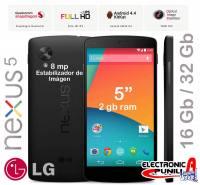 SMARTPHONE LG NEXUS 5 - LIBRE - 5 - 2gb ram - 16 gb