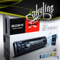 SONY MEX-BT 3150U MP3/AUX-in/usb/Ctrl. Rem./bluethoot