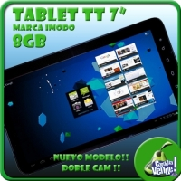 TABLET TT7 WIDE 1.5GHZ 8GB MEMORIA ANDROID 4.2 CAPACITIVA!!!