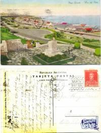 Tarjetas Postales postal Antigua antiguas MAr del Plata
