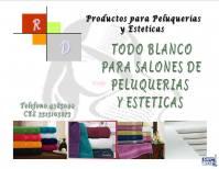 TODO BLANCO  SALONES DE PELUQUERIAS Y ESTETICAS
