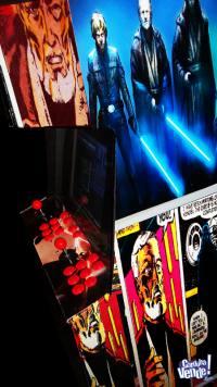 Videojuego Arcade multijuego Starwars ploteo a gusto